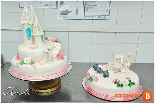 свадебные торты на заказ в Красноярске