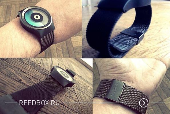 Пример как выглядят модные часы Ziiiro на руке