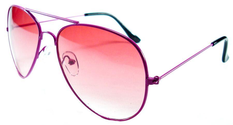 Розовые ретро очки