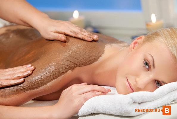 массаж шоколадом