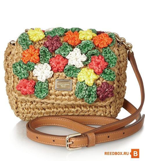 Летняя сумка Dolce&Gabbana