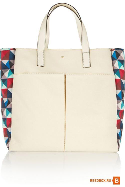 Летняя сумка Anya Hindmarch