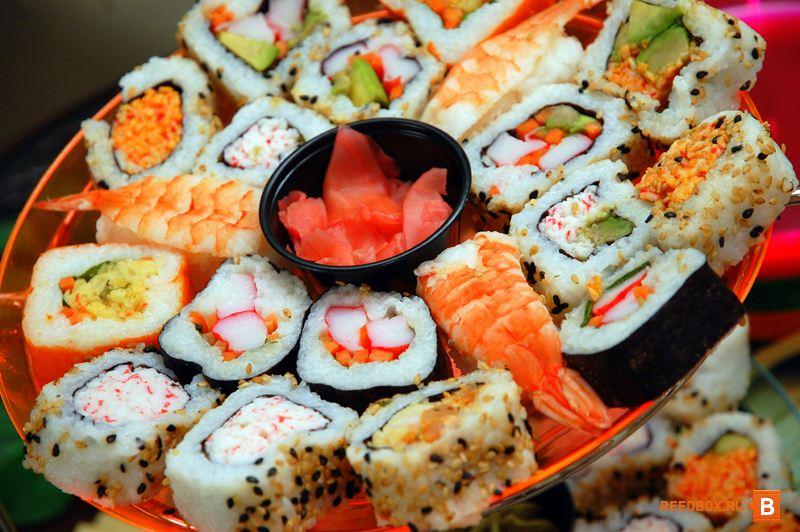заказ суши в Красноярске