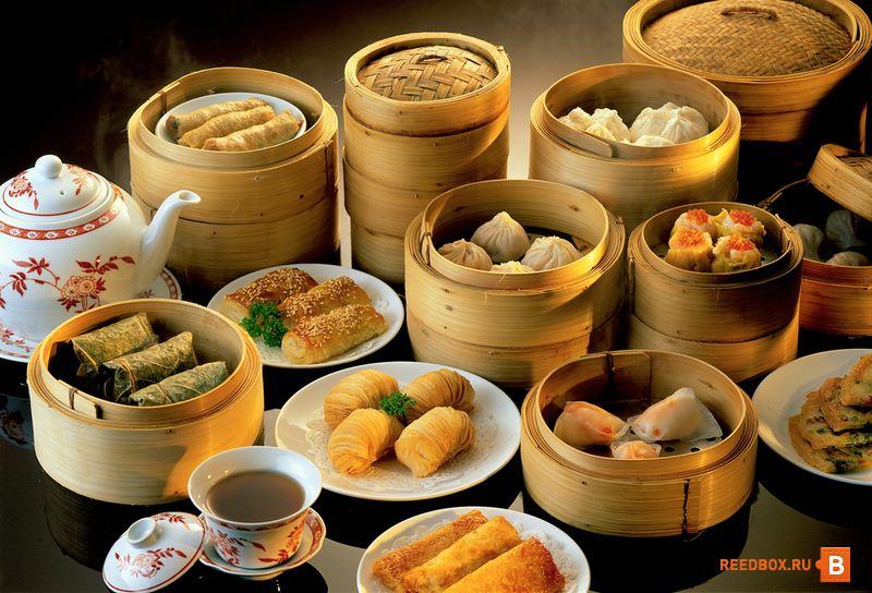 доставка китайской еды в коробочках