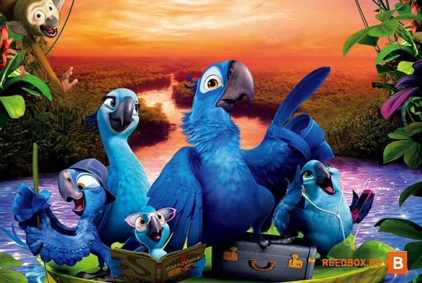 смотреть мультфильм Рио 2 в Мори Синема