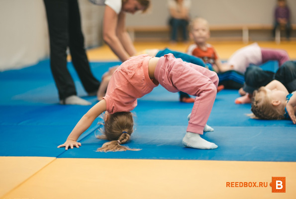 курсы детский фитнес