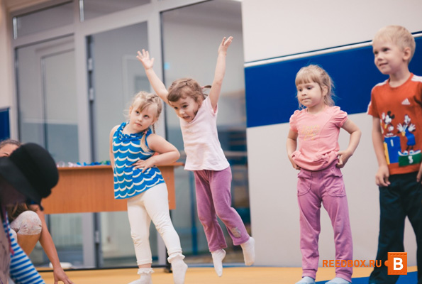 детская комната фитнес