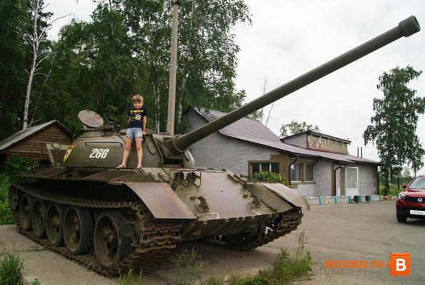 по дороге в Крым, фото танка