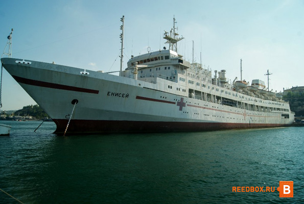 корабль на грифской пристани