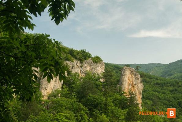 посещение большого крымского каньона