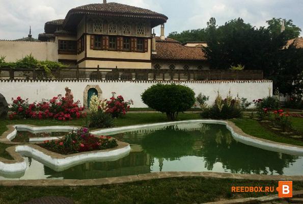 ханский дворец в бахчисарай