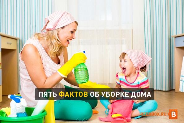 5 фактов об уборке дома