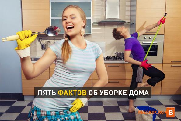 пять интересных фактов об уборке дома