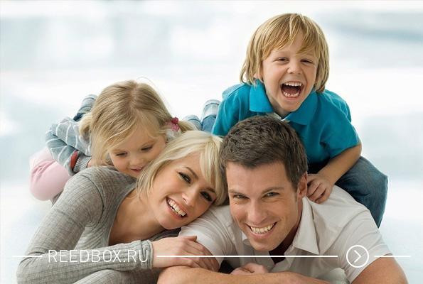 Счастливая семья при помощи услуг семейного психолога