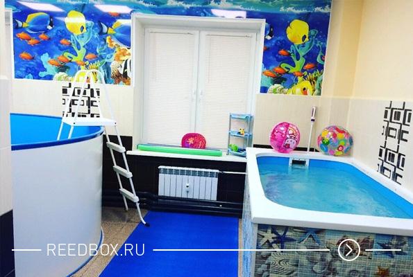 Фото интерьера детского бассейна Морская звезда