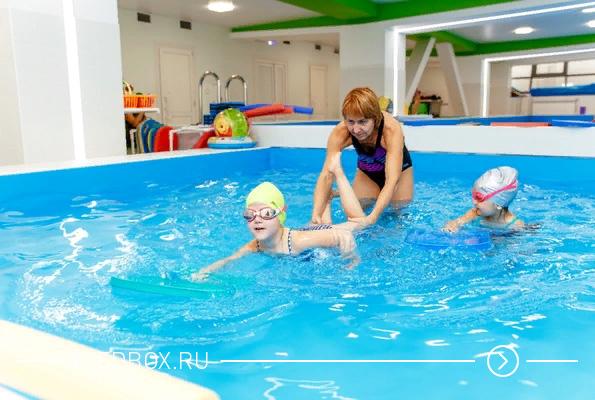 Небольшой бассейн для детей на Пашенном